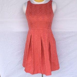 Jones Wear coral dress. Size 12.